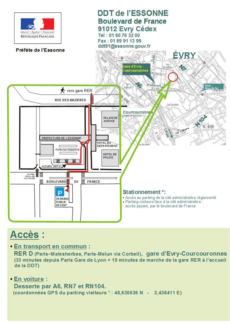 Direction Departementale Des Territoires Presentation Des Services